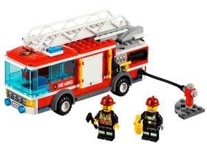 The Modern LEGO City Fire Truck